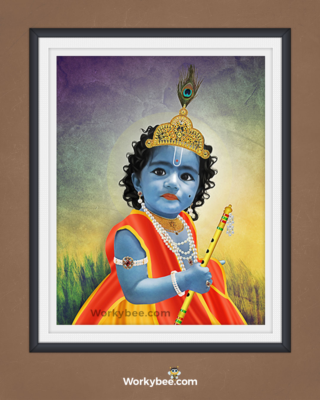 Lord Krishna Digital Painting