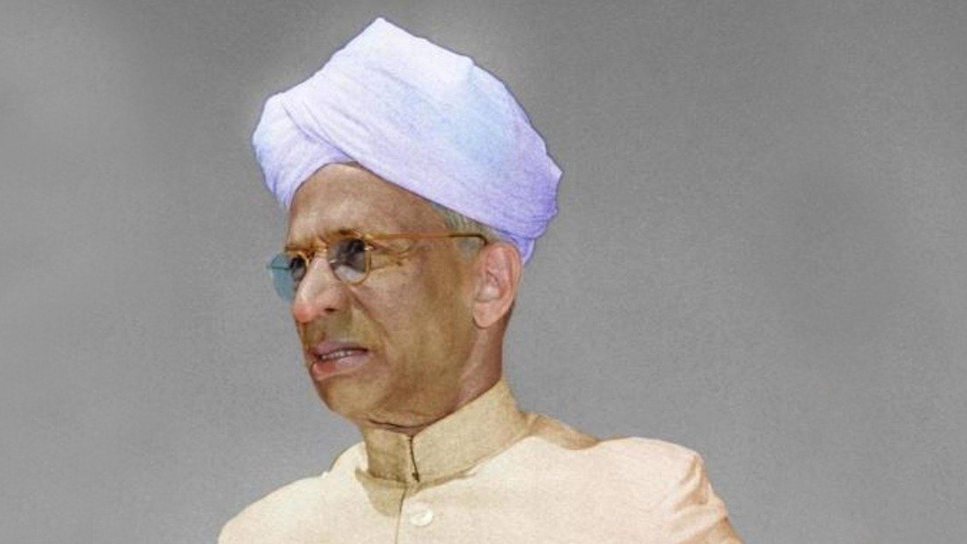 We Bow To Shri Sarvepalli Radhakrishnan On His 132nd Birth Anniversary
