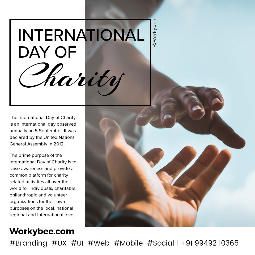 International Day Of Charity 2020