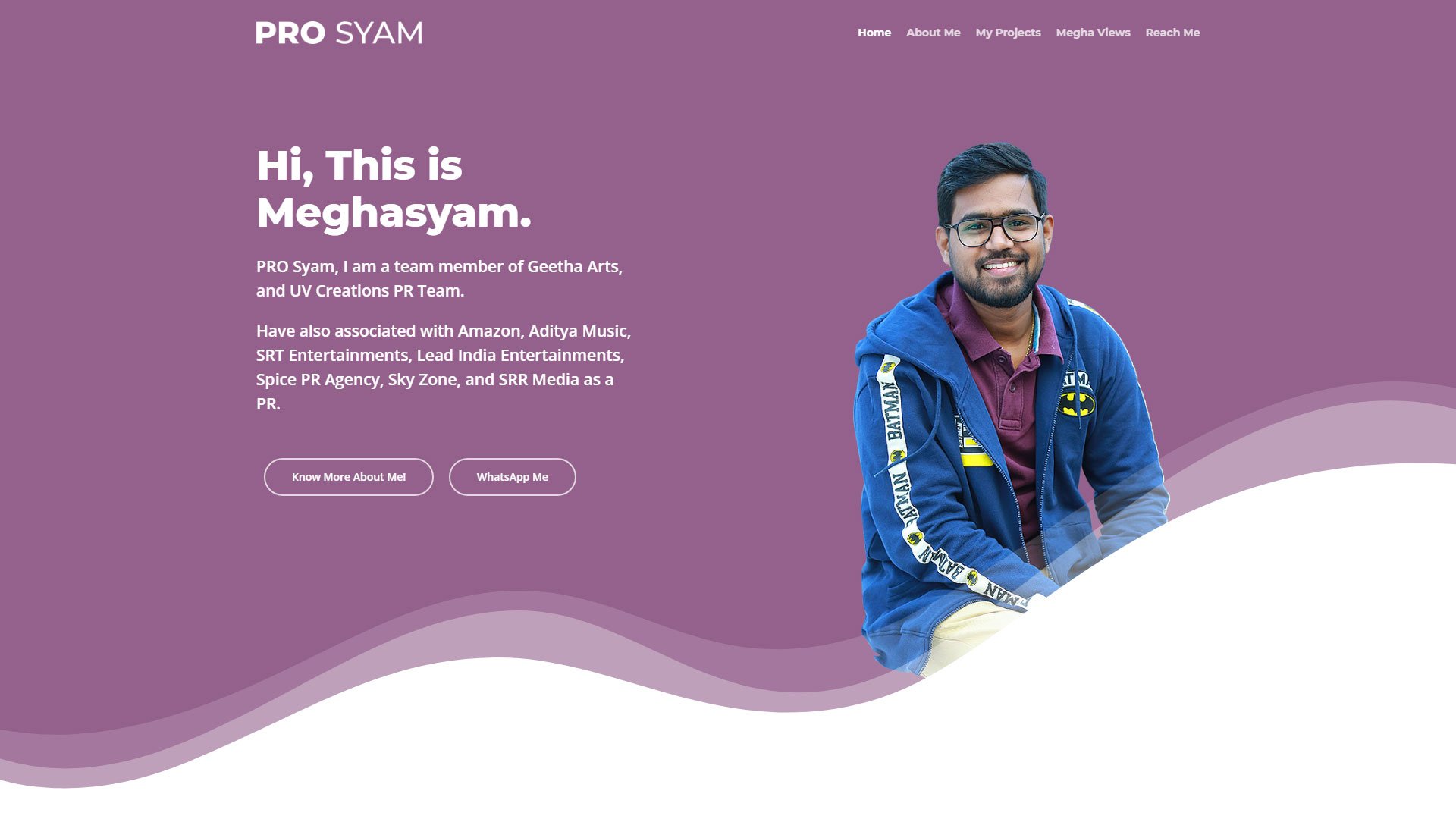 PRO Syam - Website Design